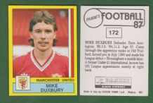 Manchester United Mike Duxbury 172